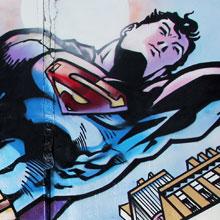 Супермен и Бетмен в Красноярске
