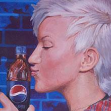 Реклама ручной работы для «Пепси»