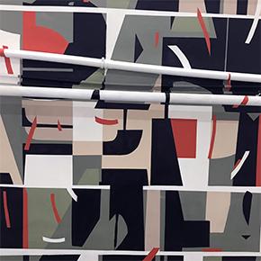 Роспись стены в Сибирской Школе Дизайна